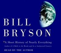 cover: a short history of nearly everything