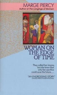 cover: woman on the edge of time