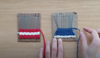 weaving comparison from how to video