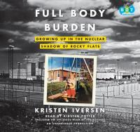 cover: full body burden