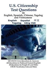Cover of U.S. Citizenship Test Questions (in multiple languages)