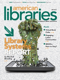 Cover of American Libraries May 2014 issue