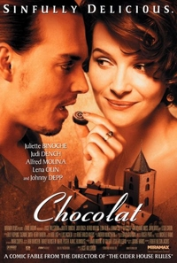 Poster from film Chocolat