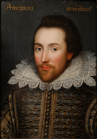 Possible portrait of William Shakespeare