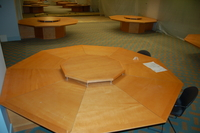 Octagonal table design