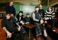 Band photo of the Dropkick Murphys
