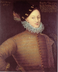 Portrait of Edward de Vere