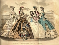 Fashions from Godey's