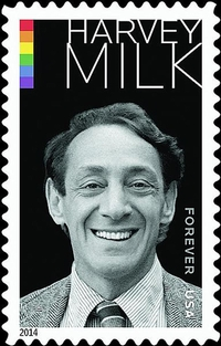 USPS Harvey Milk
