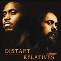 Nas with Damian Marley (Music CD cover)