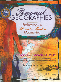 Personal Geographies Exhibit Poster