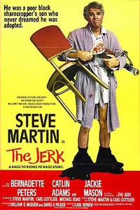 Steve Martin The Jerk (DVD cover)