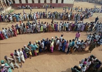 You may have to wait to vote in Sierra Leone.