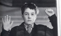 Jean-Pierre Leaud as Antoine Doinel in the 400 Blows (1959).