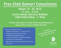 Free Child Support Consultation