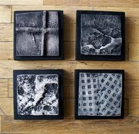 Bas Relief Clay pieces by Marie Gibbons