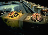 Judy Chicago's The Dinner Party.