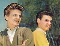 The original Everly Brothers