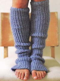 the comfy legwarmers you'll be making at movie night