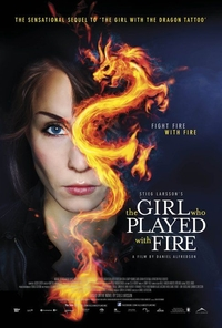 The Girl Who Played with Fire (Book Cover Image)