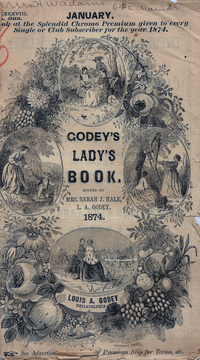 Godey's cover