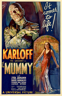From the 1932 version of The Mummy