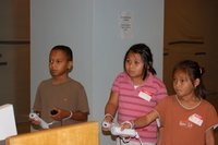 Kids gaming at Denver Public Library