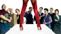 PR shot from the film Kinky Boots