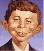 image of Alfred E. Neuman from Mad Magazine