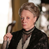 Maggie Smith as Lady Grantham