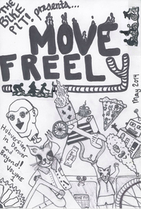 MOVE FREELY ZINE made by 411 Bike Pit! for the workshop
