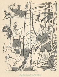 Cartoon by George Price from the Pocket Guide to New Caledonia