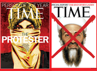 Covers Time Magazine