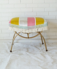 a refurbished stool from Vintage Renewal