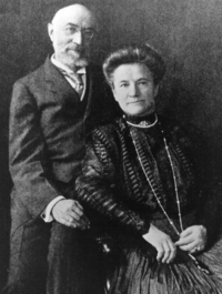 Isador and Ida Strauss, victims of Titanic