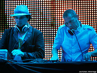Photo of Thievery Corporation playing Live