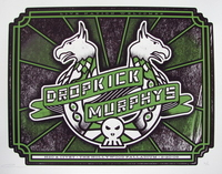 Logo for the Dropkick Murphys