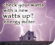 Watts up energy meters