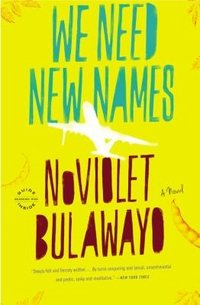 Cover art, We Need New Names NoViolet Bulawayo
