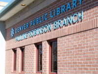 Pauline Robinson Branch Library Exterior 2017