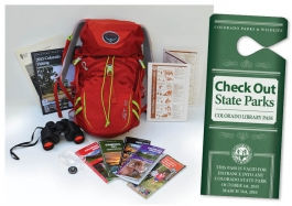 State Park backpack now available for checkout