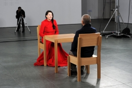 Photo from Marina Abramović: The Artist Is Present