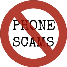 Just say no to phone scams!