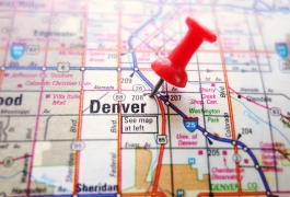 Denver map image