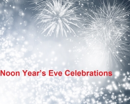 Noon Year's Eve Celebrations