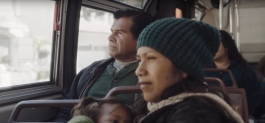 "Still from the short video ""The Journey,"" by Diego Luna"