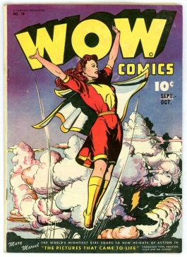 WOW Comics no. 38 cover image