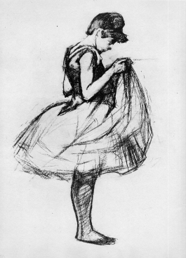 sketch by Toulouse-Lautrec