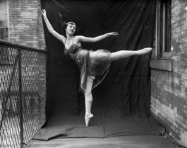 ballet dancer Harry M. Rhoads photograph collection
