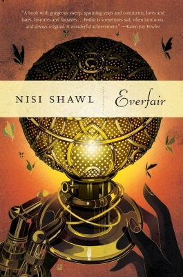 cover of everfair by nisi shawl